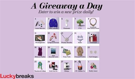 Lucky Magazine Giveaways - lucky magazine daily giveaway how to have it all