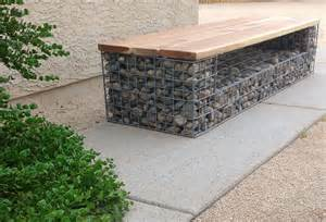 Landscape Bench Gabion Baskets And Gabion Wall Design We Create Beautiful