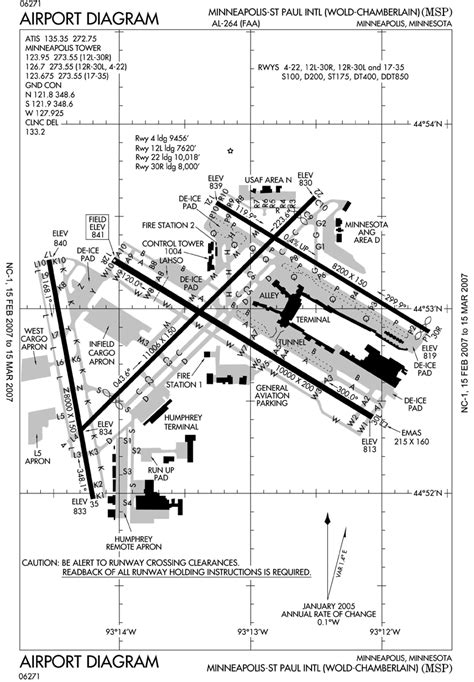 airport diagram file kmsp airport map png wikimedia commons