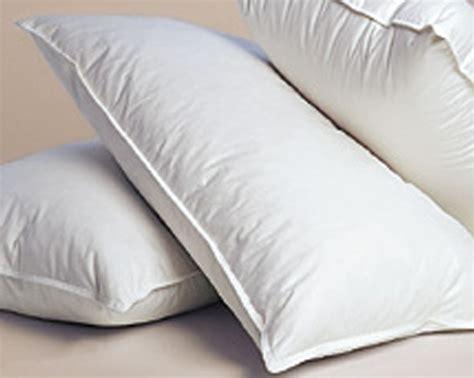 almohadas de plumas almohadas de fibra hueca