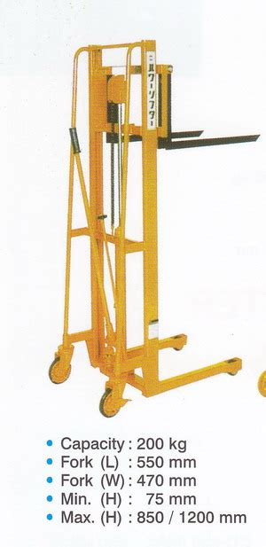 Liftrer Stacker Manual 1000 power lifter manual stacker 200kg 1000kg products of