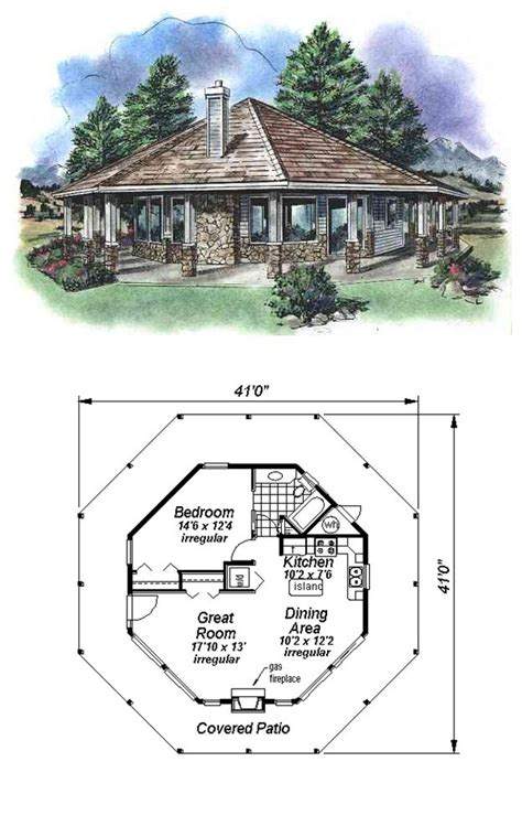 Cool Houseplans by 16 Best Octagon Style House Plans Images On Pinterest