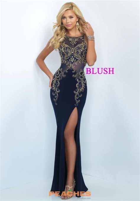 Id 877 Blue Flower Dress blush dress 11038 peachesboutique