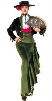 andalusian woman fancy dress costume bs011202