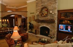 great room floor to ceiling fireplace withamsville oh