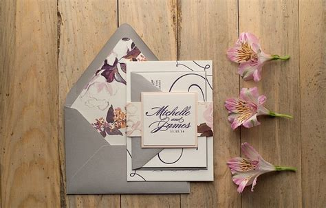 Gorgeous Wedding Invitations   MODwedding