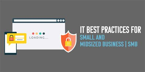 7 it best practices tips for smb infographic uniserveit