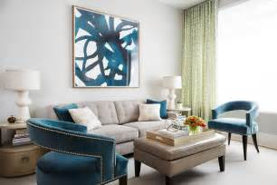 taupe and teal painting living room contemporary with
