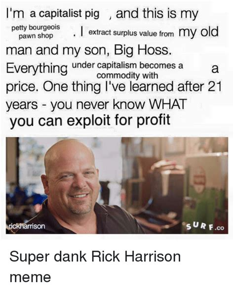 Rick Harrison Meme - search im rick harrison memes on me me