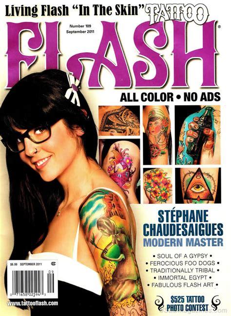 tattoo flash magazine back issues tattoo flash september 2011 magazine back issue tattoo