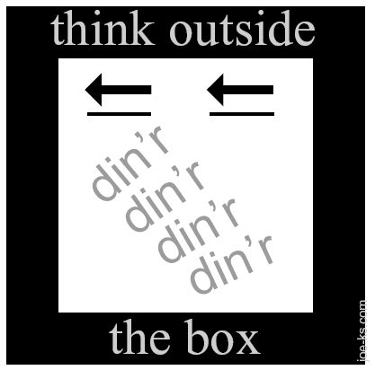 think outside the box puzzle thinking outside the box puzzle