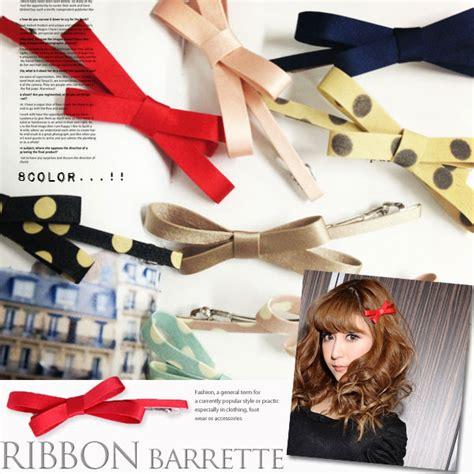 Felice Ribbon Top 画像 夏のヘアスタイルは リボンバレッタでこんなにも可愛くなれる naver まとめ