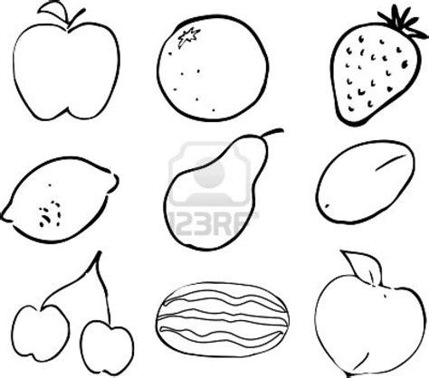 frutas para colorear en ingles imagui frutas en ingles para colorear imagui