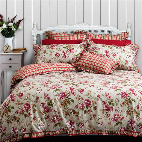 vorhänge cottage style hyde park quilt cover set