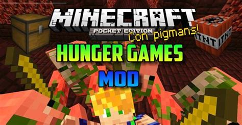 hunger games mod in minecraft pe hunger games mod for minecraft pe 0 9 5 2