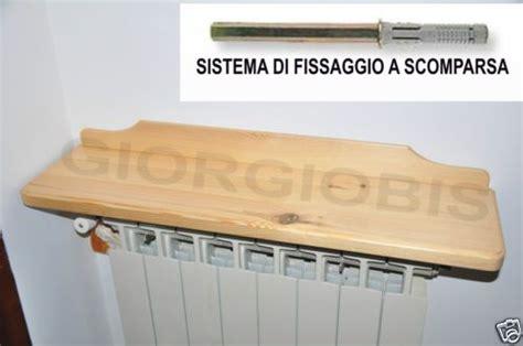 mensole copritermosifoni mensola copritermosifone in legno massello stagionato