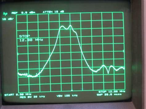 tracing filteroscillator frequency response  spectrum analyzer  signal generator youtube