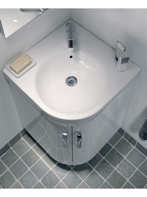 corner sink and vanity e200 500 white corner vanity unit floor standing