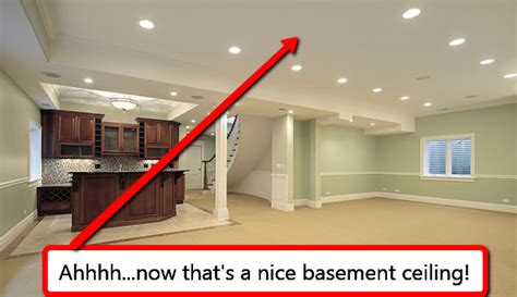 Drop Ceiling Options Drop Ceilings Or Drywall Ceilings The Age Question