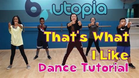 Tutorial Dance That S What I Like | quot that s what i like quot kidz bop beginner dance tutorial