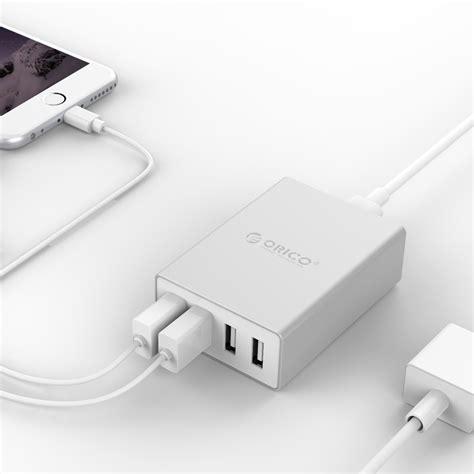 orico aluminum 4 port desktop charger ask 4u