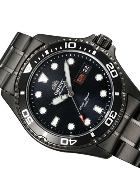 Orient Black 2 orient ii black pvd automatic dive with