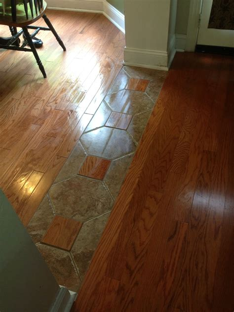 17 best images about floorboards on pinterest home decor a really cool way to tie two different hardwood lots