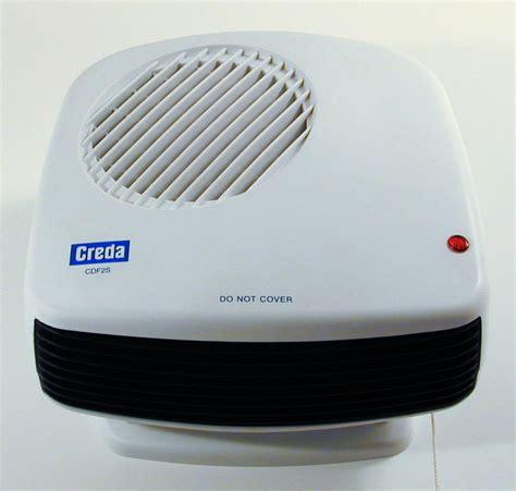 portable bathroom heater creda cdf1 1kw compact bathroom downflow fan heater
