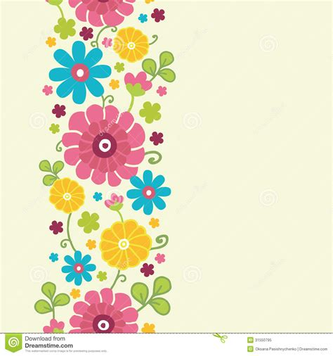 L 876 Beautifull Flower Kimono 1 colorful kimono flowers vertical seamless pattern royalty