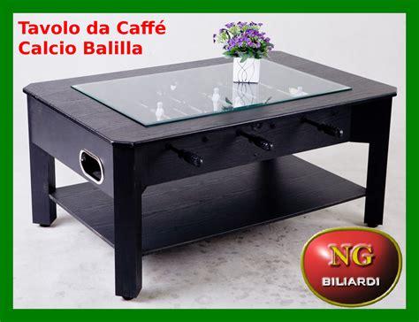 tavolo biliardino tavolo da caff 232 calcio balilla calcetto biliardino