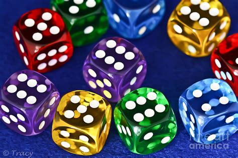 colored dice colored dice