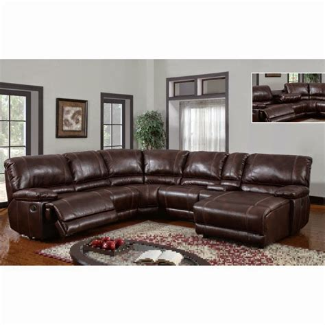 microfiber sectional recliner the best reclining sofas ratings reviews barton 6 pc