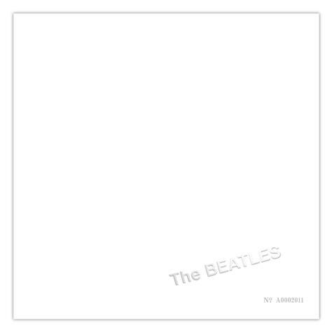 The White shop white album pen card set by the beatles