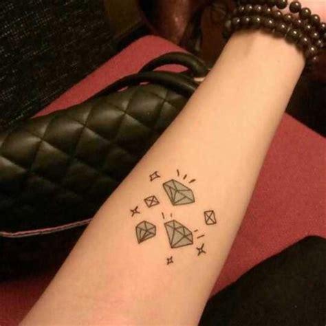 tatuagem de diamante significados fotos e modelos
