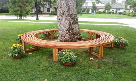 circle tree bench semi circle bench mariaalcocer com