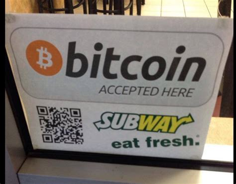 bitcoin online shop i bought subway with bitcoin and it was awesome coindesk