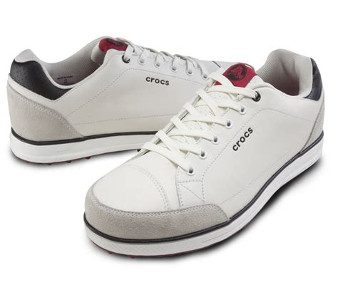 croc golf shoes crocs karlson spikeless golf shoes white discount