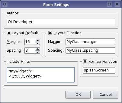 qt layout margin qt 4 7 customizing qt designer forms
