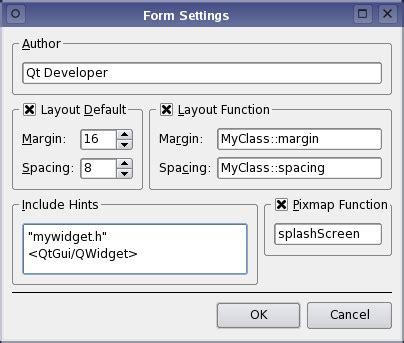 qt layout contents margins qt 4 7 customizing qt designer forms