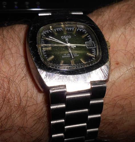 Kratzer Auf Uhrenglas Polieren by Uhrenglas F 252 R Osco S Uhrforum
