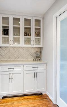 glass front cabinets archives design chic design chic this is beautiful love the corner cabinet as well gray