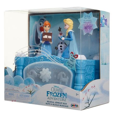 disney olaf s frozen adventure musical jewelry box target