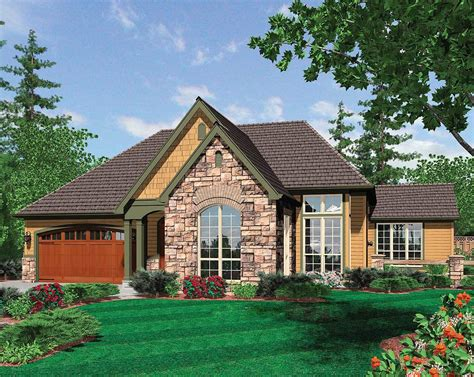 european cottage plans european cottage plan with covered porch 69122am