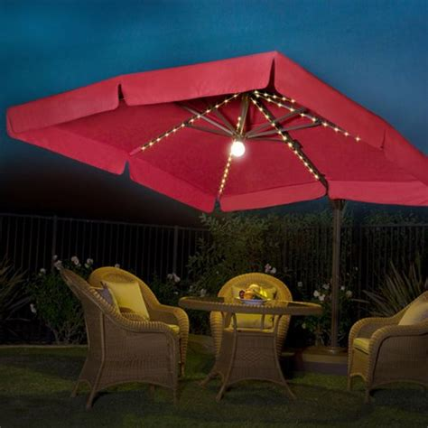 lighted patio umbrella lighted umbrella for patio goenoeng
