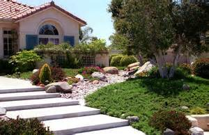 front yard xeriscape xeriscape entry