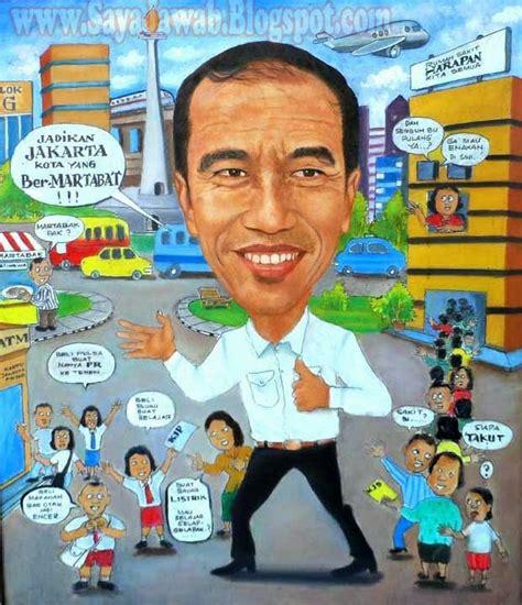 biodata bpk jokowi karikatur karikatur pemimpin revolusi mental indonesia