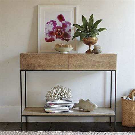 decor for sofa table modern wooden console table decoist