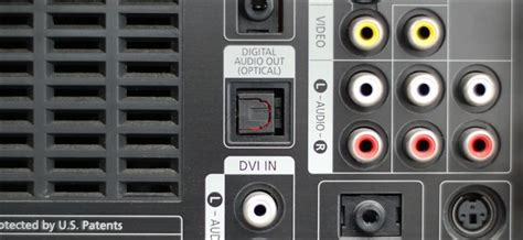 casse con ingresso ottico what is the optical audio port and when should i use it