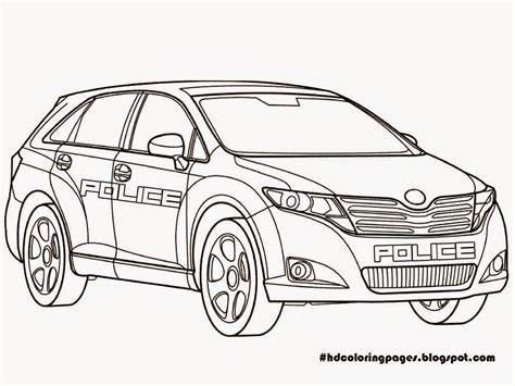 coloring pages cop cars free printable police car coloring pages 8 image