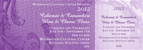 purple citation template year classic purple general admission ticket